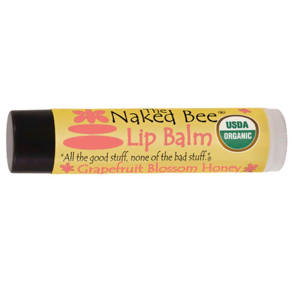 Naked Bee Tinted Lip Balm Sunscreen SPF 15 0.15 Oz. - Wild
